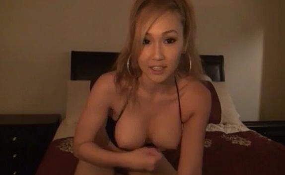 Busty chick masturbating