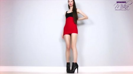 Empress Mika - Tall Goddess Leg & Calf Worship